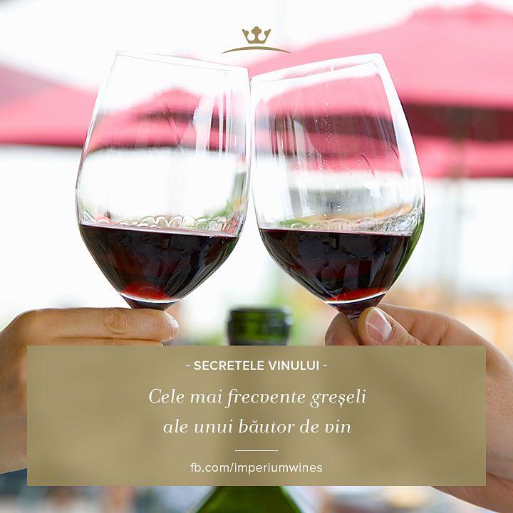 Știi care sunt cele mai frecvente greșeli pe care le poți face, când bei vin? http://www.vivino.com/news/the-8-worst-mistakes-wine-drinkers-make