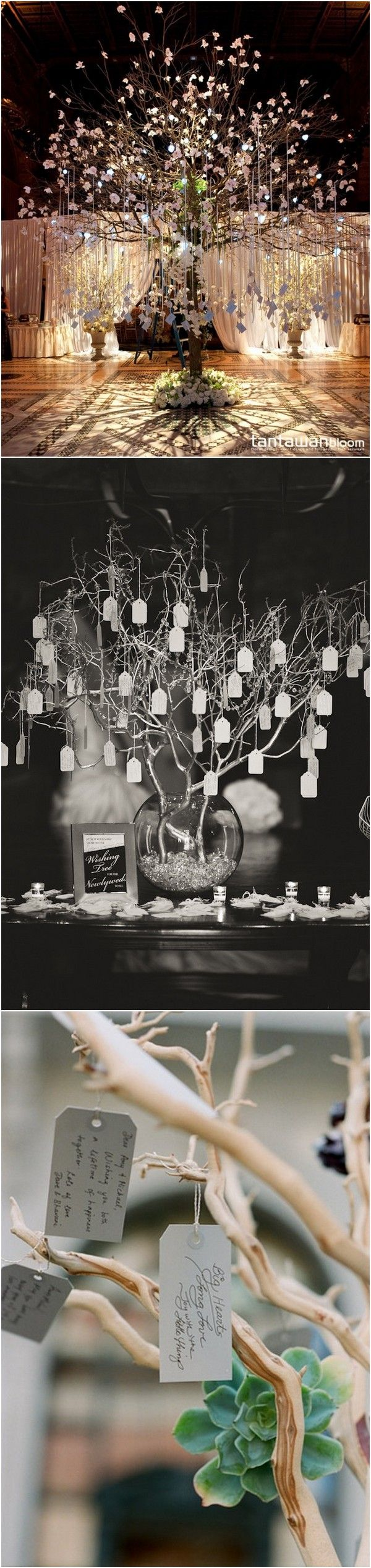 wedding wishing tree decoration ideas