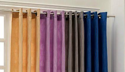 Cortina Hogar Ondas. Visítanos en tuakiti.com #cortina #curtain #decoracion #homedecor #hogar #home #ondas #waves #tuakiti