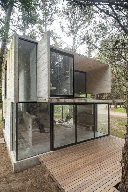 13 besten Das elegante Dunkle - Beschützt wohnen mit Schiefer - interieur mit holz lamellen haus design bilder