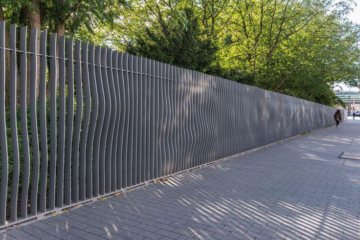 The Neue Messe Entrance to Planten un Blomen, Hamburg, Germany by A24 Landschaft Landschaftsarchitektur GmbH