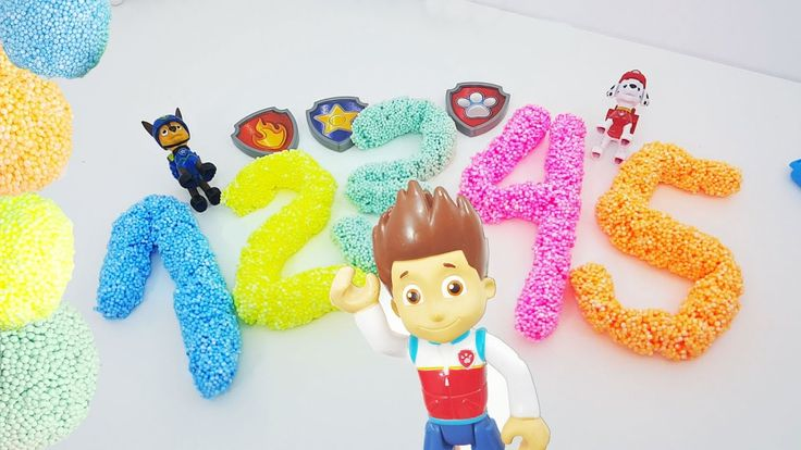 Counting | paw patrol toys |part 1