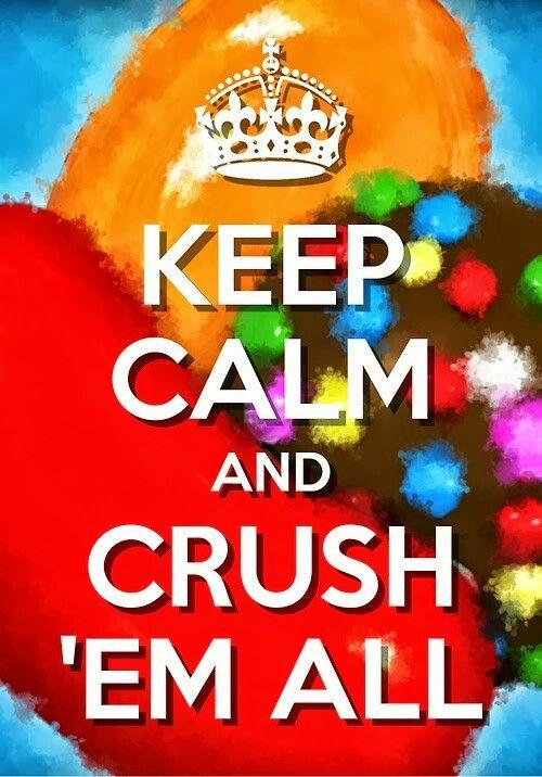 Keep candy crush