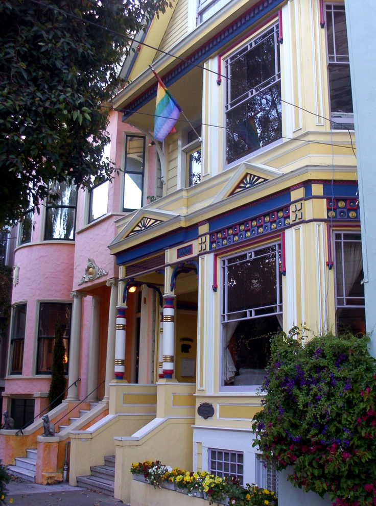 Street color in the Haight San