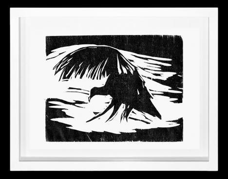 Black Vulture III - Heraldo Candido     Veja outras obras deste artista em nossa galeria de arte online - http://tintaed.com/artistas/heraldo-candido