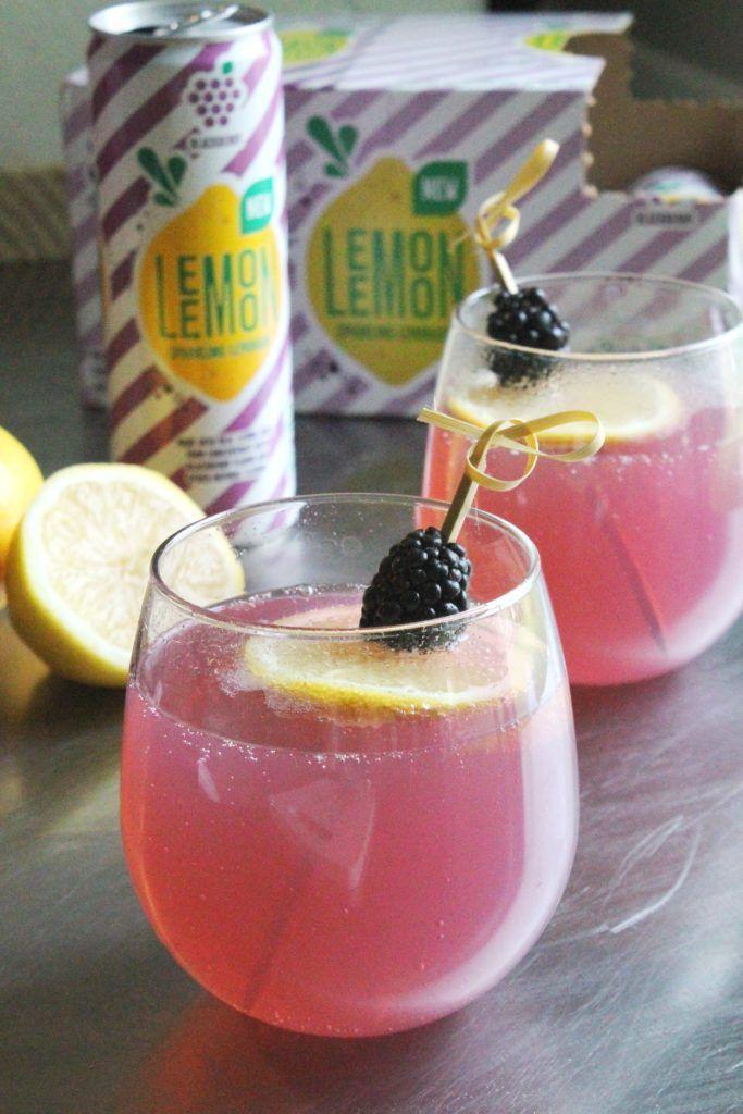 Lemon Lemon Blackberry Sparkling Lemonade!