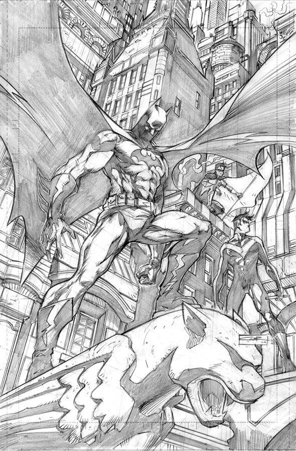 BATMAN - Dynamic trio - by ~Cinar on deviantART