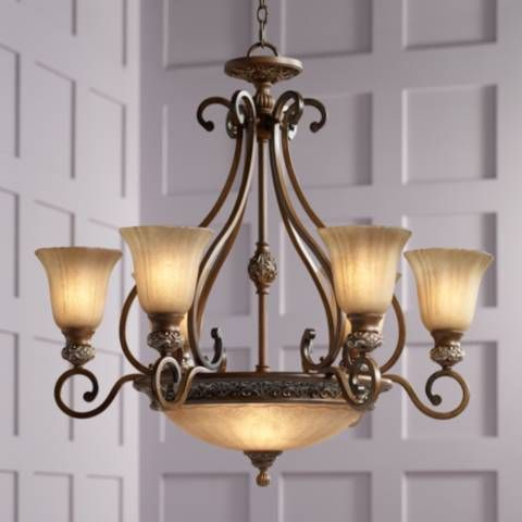 "Kathy Ireland Sterling Estate 34 1/2"" Wide Chandelier - #61022 