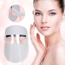 TOP BEAUTY LED Photon Facial Mask Wrinkle Removel Pores Shrink Face Skin Rejuvenation Acne Treatment Beauty Machine