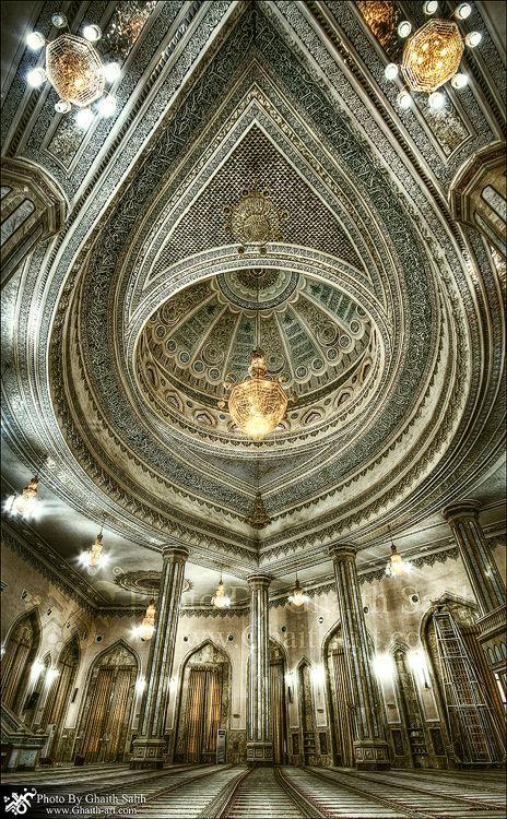 Mosque Al-Dawla Al-Kabeer  by Ghaith Salih, via 500px