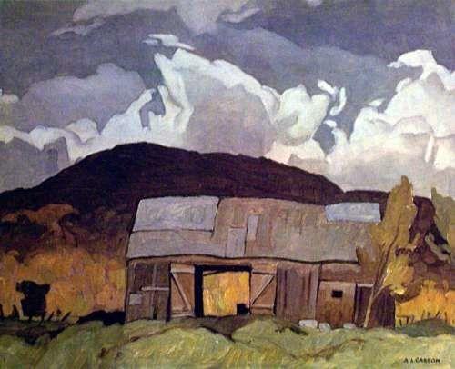 A.J. Casson Barn at Pointe au Chene
