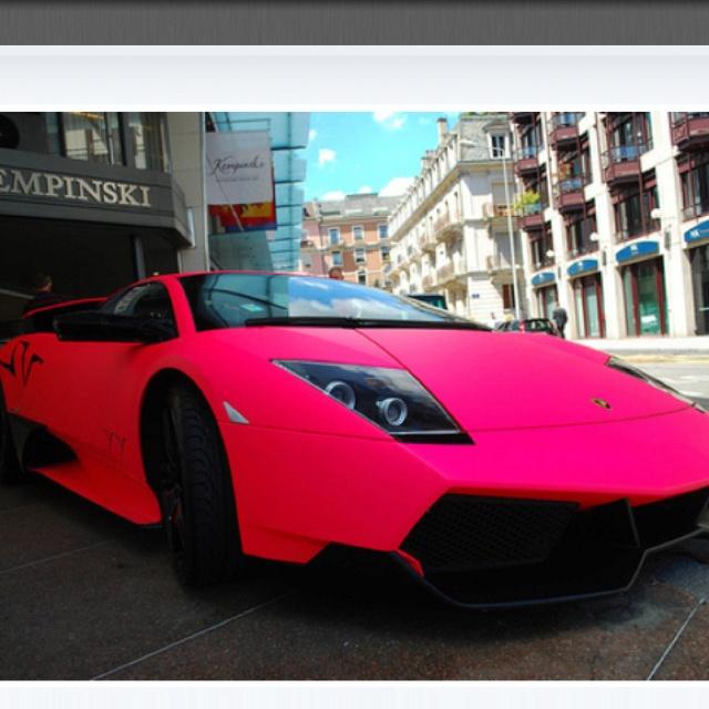 Pink Lambo Whereu0027s Mine?