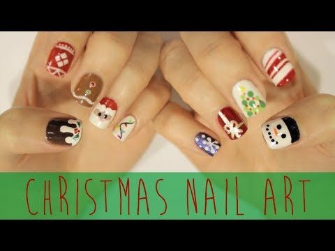 Cutepolish Nail Art For Christmas