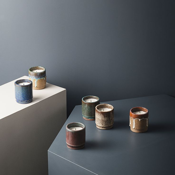 Scented Candle - Blue by ferm LIVING - Danish Design - FAST DELIVERY