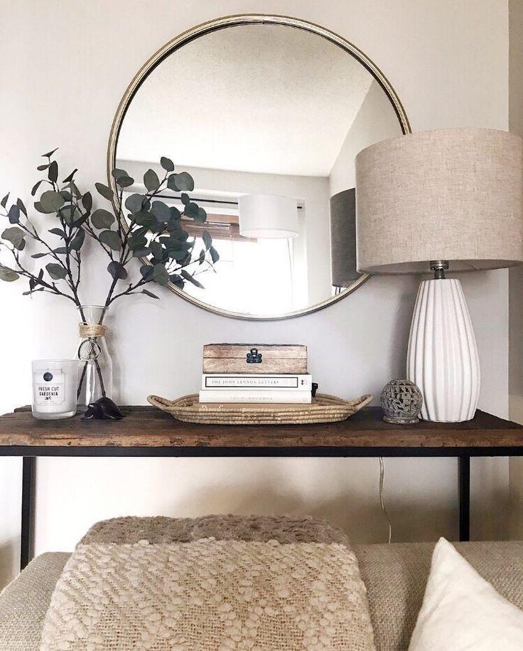 Runder Spiegel süße Ecke #decor #roundmirror