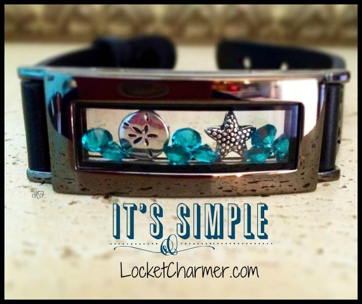 #southhilldesigns new #graphite #locket bracelet. This is so awesome looking!