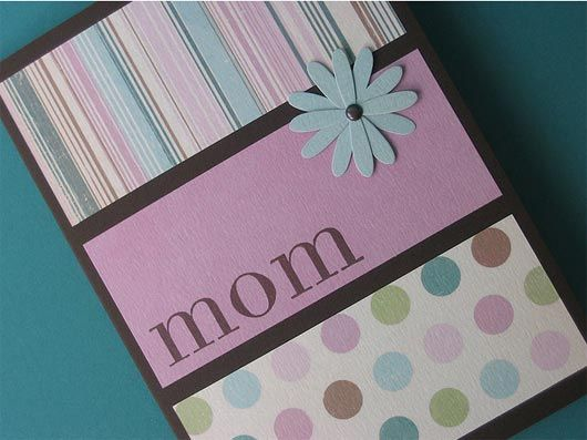 Celebrate the promising joys of Mother's Day with 21 Handmade Card ... Mother's Day Card