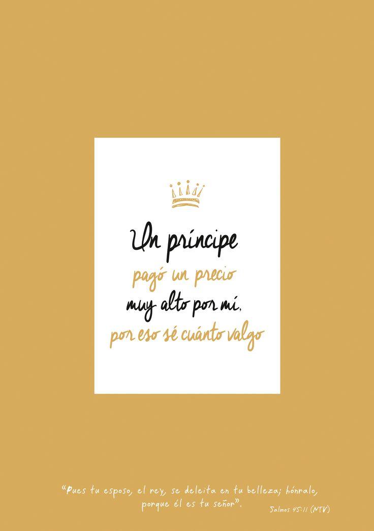 Escúchame, oh hija de la realeza; toma en serio lo que te digo: olvídate de tu pueblo y de tu familia, que están lejos. Pues tu esposo, el rey, se deleita en tu belleza. Salmos 45:10-11     hónralo, porque él es tu señor.