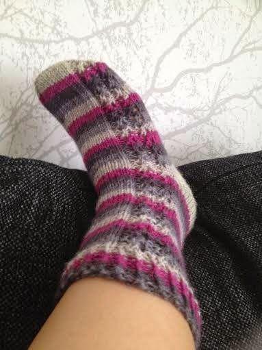 Mulle kaikki nyt heti!: Sukkia, sukkia - syksy tulee!