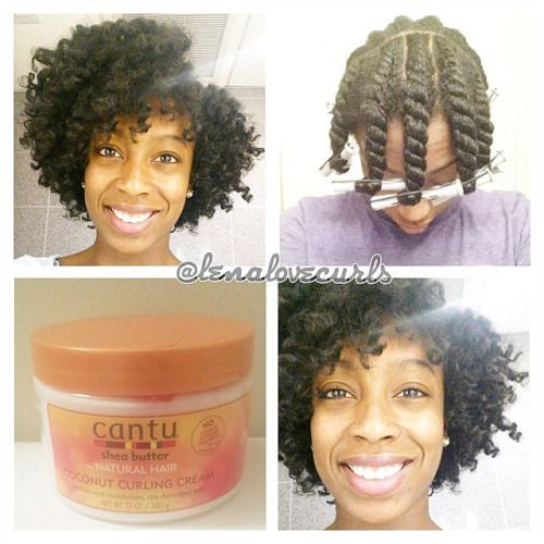 Lenalovecurls Favorite Style Flat Twist Out I Used