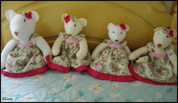 família de ursinhas http://www.elo7.com.br/lelekaatelie17f10a