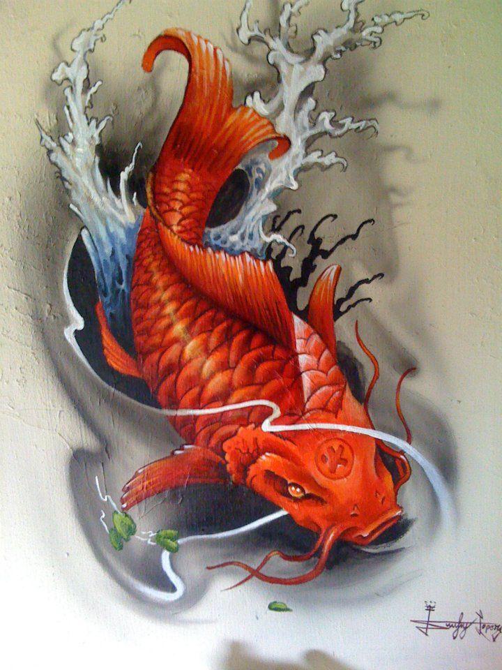 Tattoo papel parede pesquisa google refer ncias for Japanese koi dragon