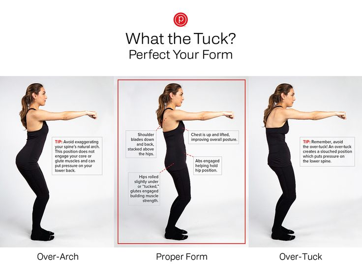 What the tuck? Everything you always wanted to know about the Pure Barre tuck.