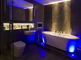 Wonderful Simple And Easy To Do Bathroom Mood Lighting Ideas  Lights And Lights