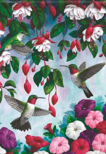 Hummingbirds Dancing