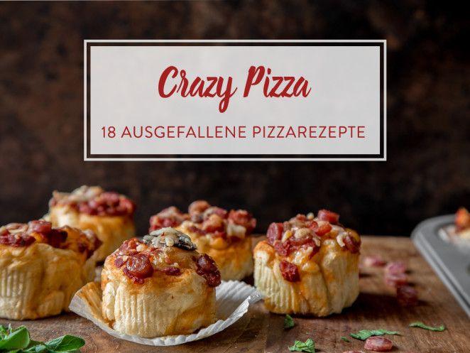 Pizza mal anders: 18 ungewöhnliche Pizzavariationen
