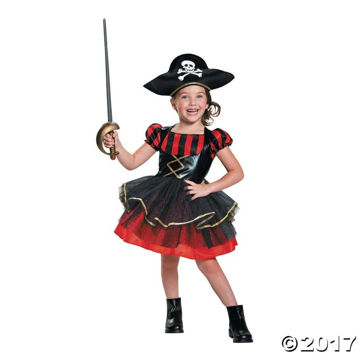 Girls' Precocious Pirate Halloween Costume for Toddlers