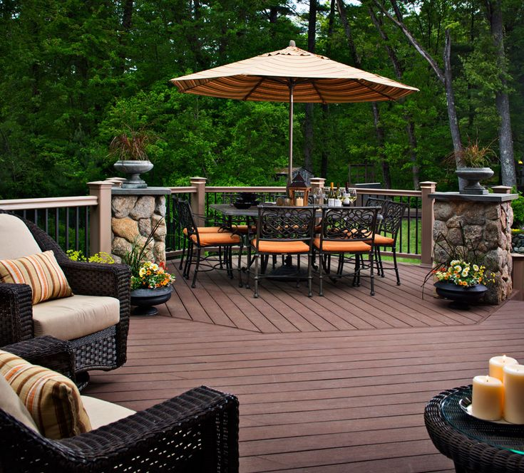 Creative Outdoor Deck Ideas For A Nice Backyard
