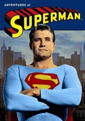Superman TV Series 1950s.  Ponyboy would look up to superman as a symbol of hope.