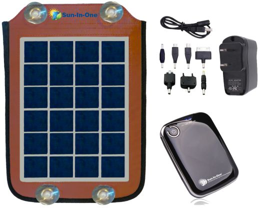 5 Watt Portable Solar Charger and Power Pack