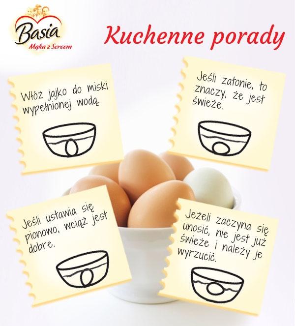 Jak stwierdzić czy jajko jest świeże