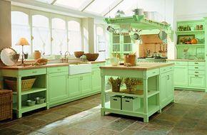 Cocinas para una casa de campo