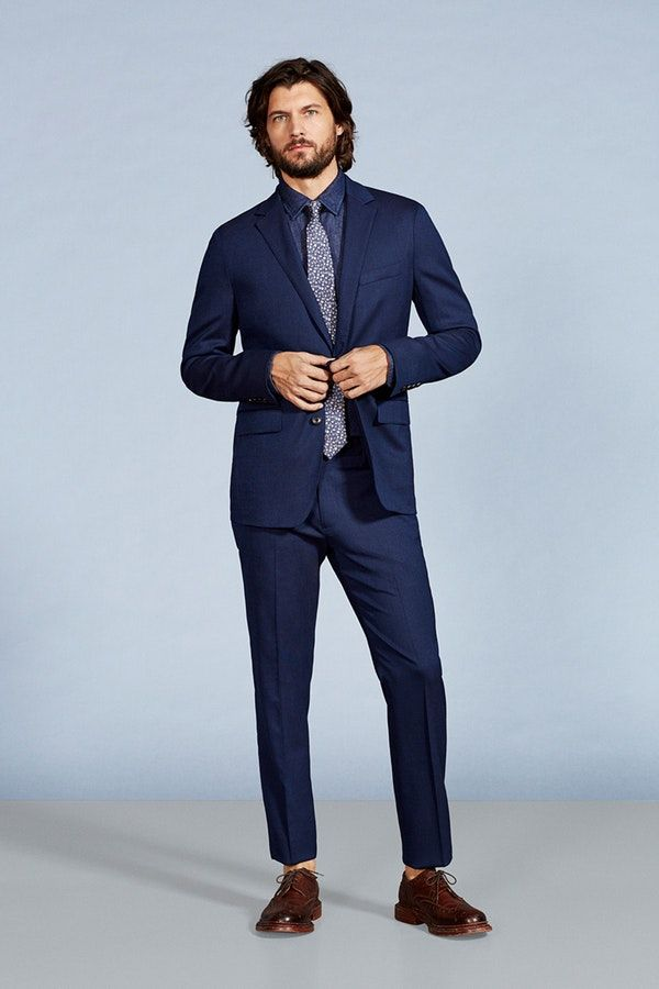 The Jetsetter lightweight wool suit from the Groomshop | Bonobos