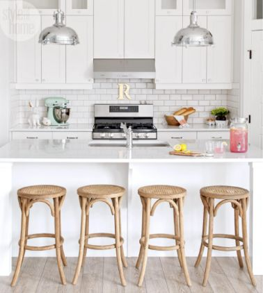 Accessorizing An All White Kitchen House Tour Playful And Personalized Family