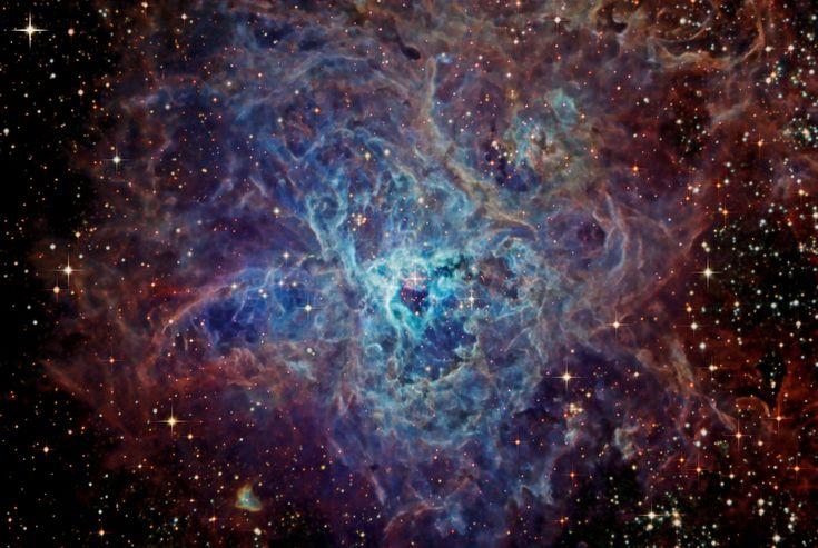 Изображения туманности Тарантул | Naked Science