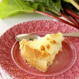 Rabarberpaj recept - rabarberpaj med vaniljkräm - Dansukker http://www.dansukker.se/se/recept/rabarberpaj.aspx #cake #rabarber