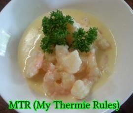 Recipe Garlic Prawns by MTR My Thermie Rules - Recipe of category Main dishes - fish