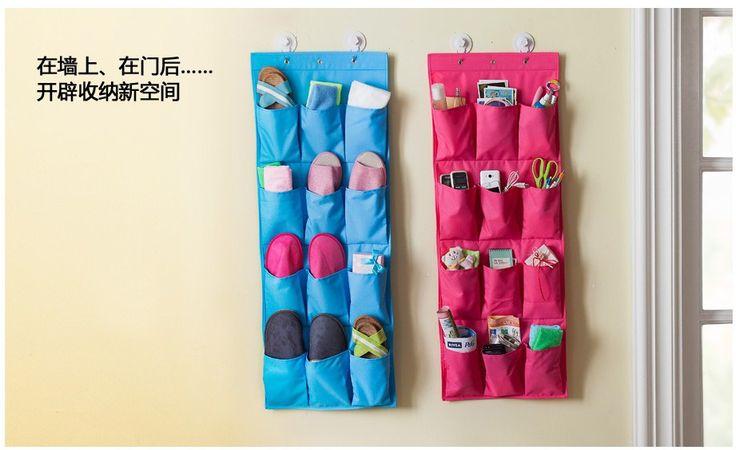 Горячая распродажа моющиеся 12 кармана с 3 крючками над дверью висит сумка для хранения обуви одежды мешок производитель организатор стойки,Подвесные органайзеры для обуви