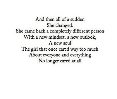 That's so depressing!