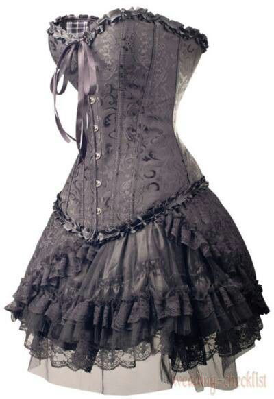I WANT THIS!!!! And wear it around the house in black lacy thigh highs! (Not appropriate for outerwear...less'n you wanna get jumped, ya!)
