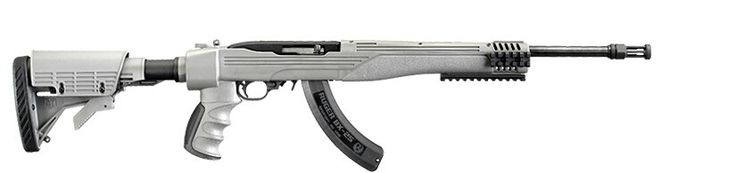 Ruger 10/22 Tactical in Destroyer Gray. I want this!!!
