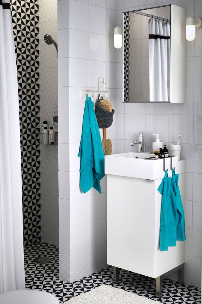 small bathroom space not a problem with the lillangen bathroom cabinet storage series it