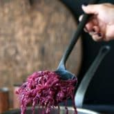 Classic Red Cabbage recipe for the holidays or your freezer.The Art of Doing Stuff