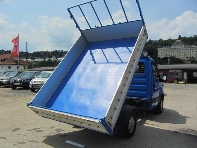Iveco Daily DAILY 35 S12 – prodej • dodávky sklápěče - inzerce • TipTrucker.cz