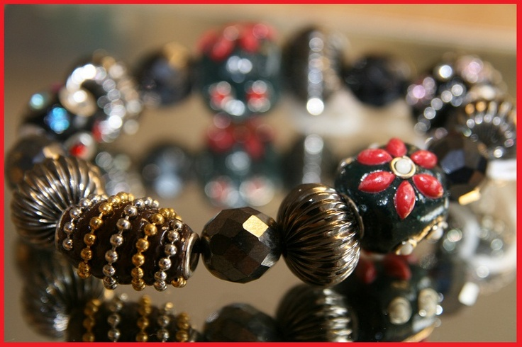 Incorporate Kashmiri beads to great effect. Ideas, we have plenty to go around just come in & see.