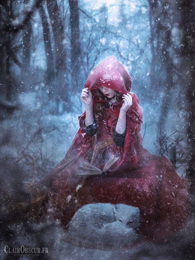 The story of the Little Red riding Hood by clair0bscur.deviantart.com on @DeviantArt